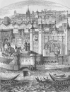THE TOWER OF LONDON. Captivity of the Duke of Orleans in the Tower c1880 print